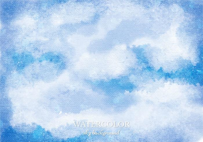 Free Vector Watercolor Sky Background