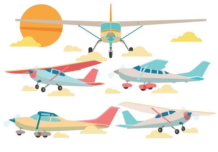 Cessna Avión Vector
