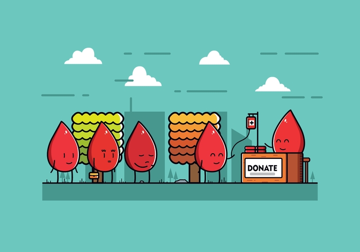 Free Blood Drive Vector