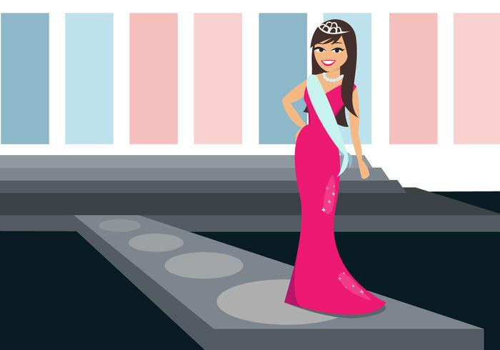 Free Pageant Vector