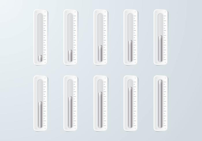 Mercury Goal Thermometer