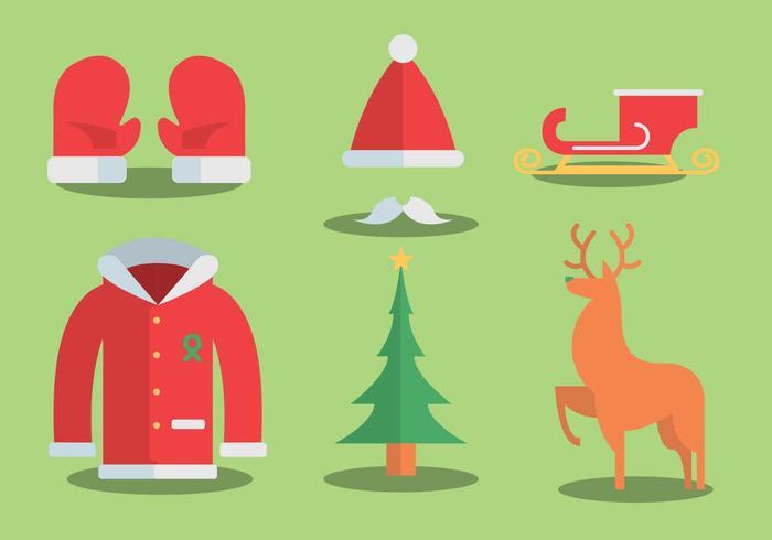 Sinterklaas vektor uppsättning