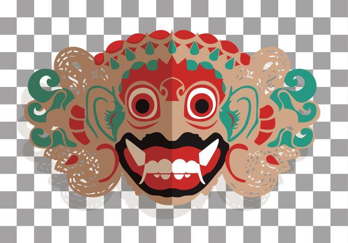 Barong Bali Vector