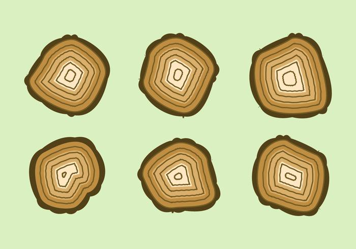 Gratis Tree Rings Vector Illustratie # 5