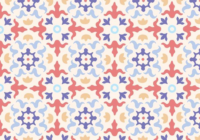 Kakel mosaik mönster