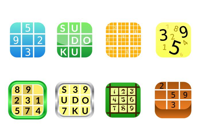 Gratis Sudoku App Icon Vector