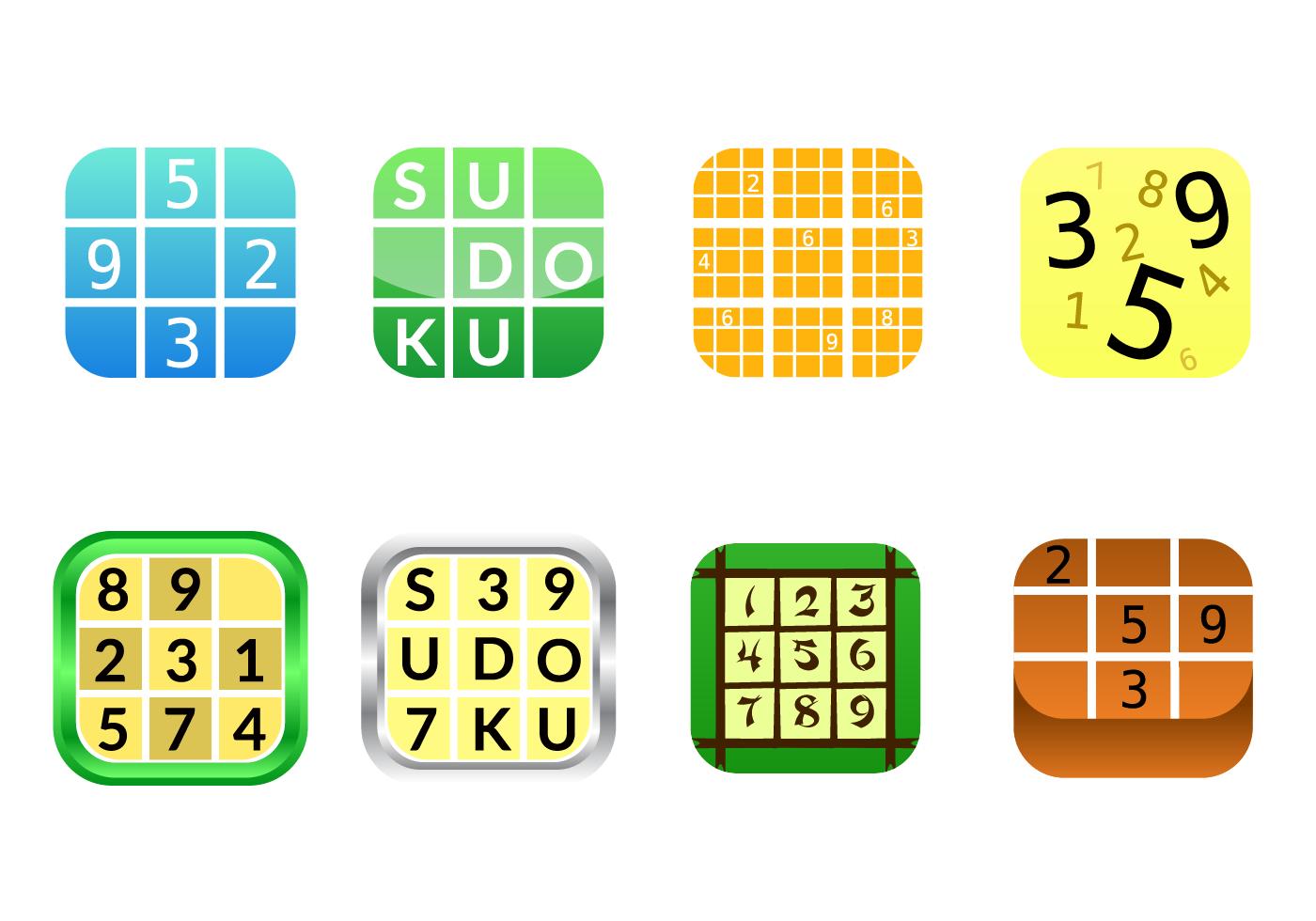 Free Sudoku App Icon Vector Download Free Vector Art