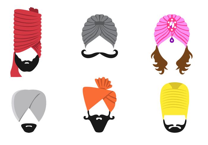 Vettori di turbante gratis