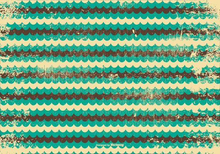 Retro Grunge Vector Background