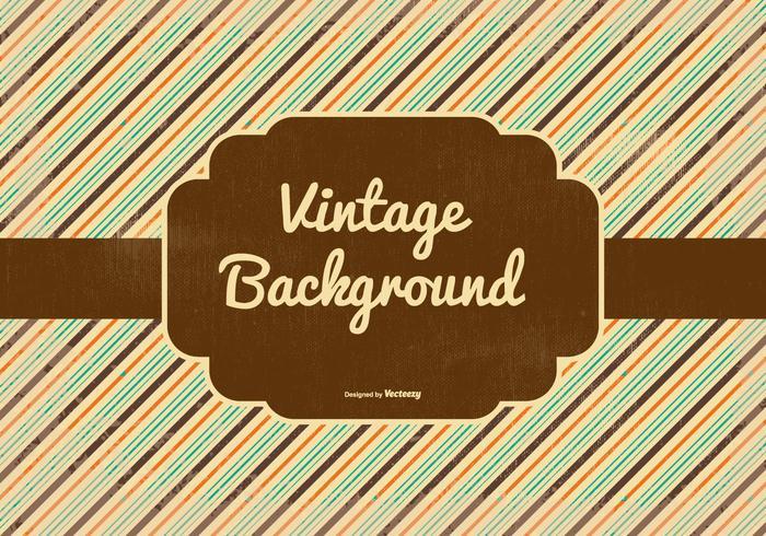 Retro Style Vector Background