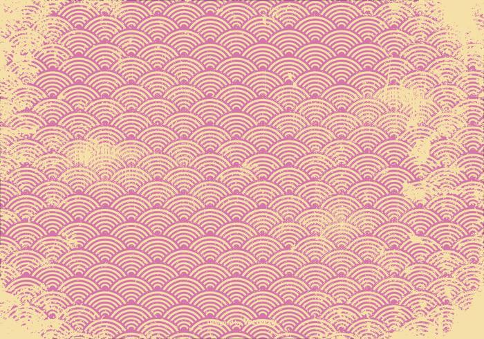 Pink Retro Grunge Background