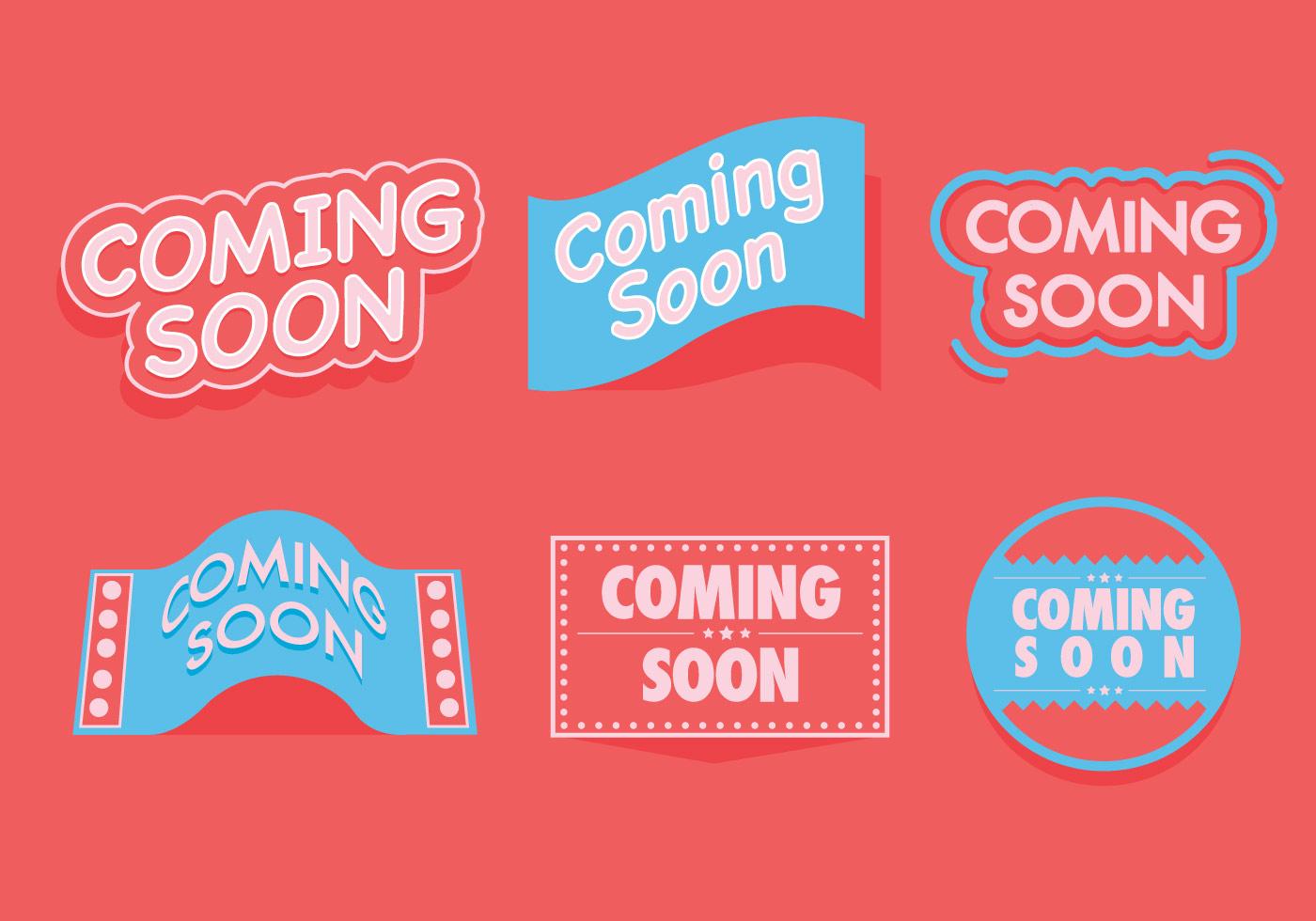 coming soon vectors download free vectors clipart