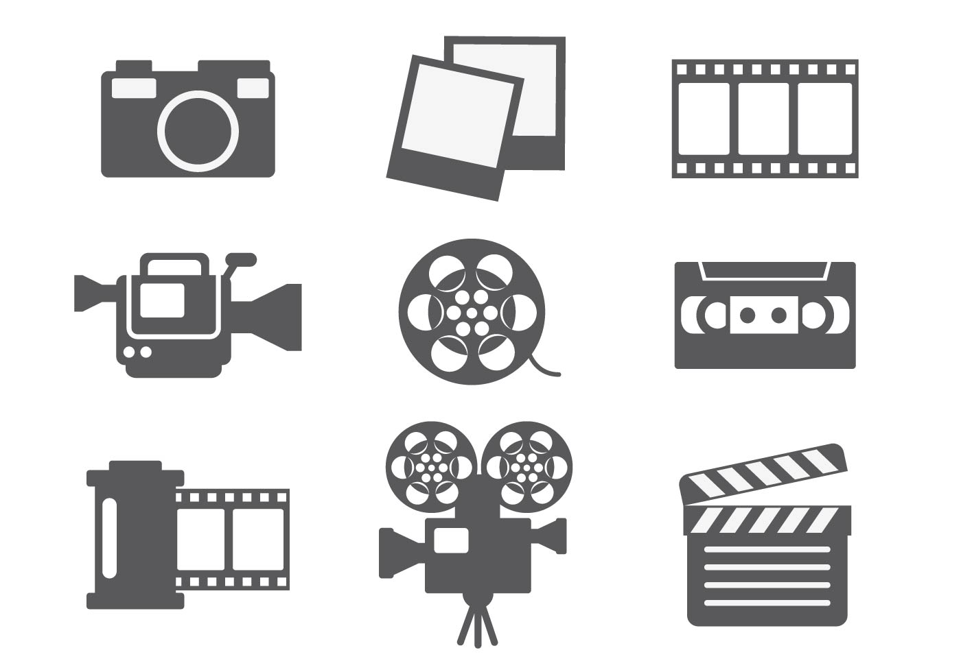Video Editing Icon Vector Download Free Vector Art