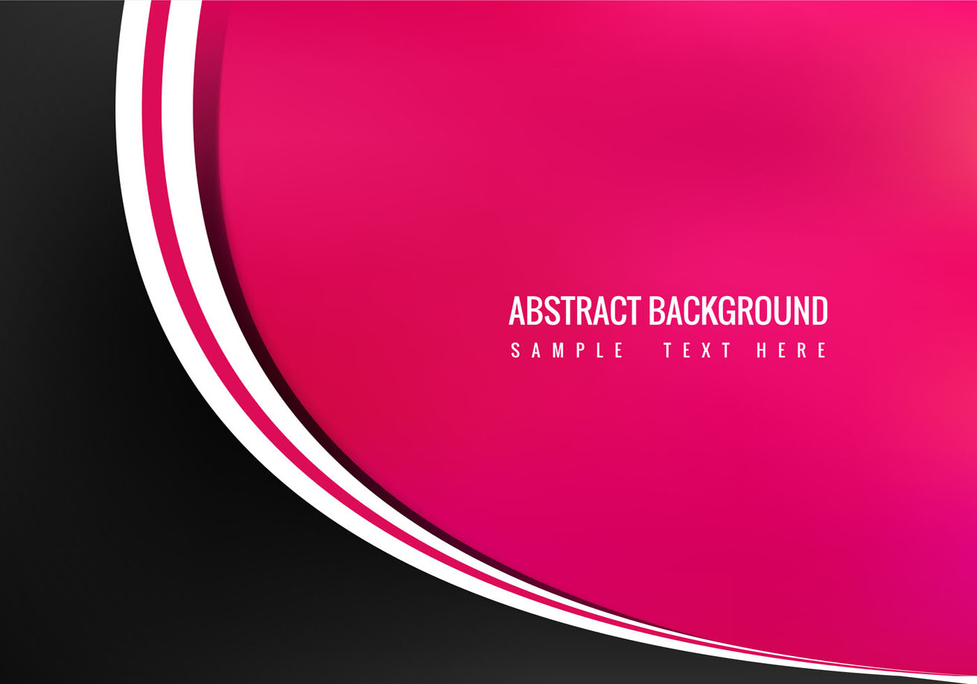 Free Vector Abstract Pink Background - Download Free ...