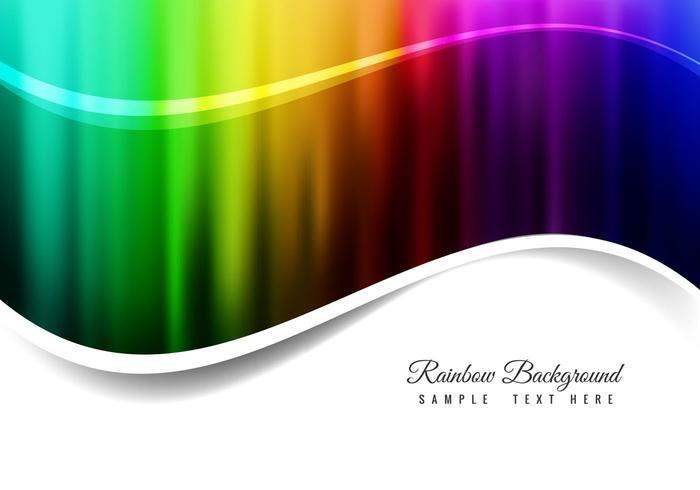 Gratis Vector Rainbow Achtergrond