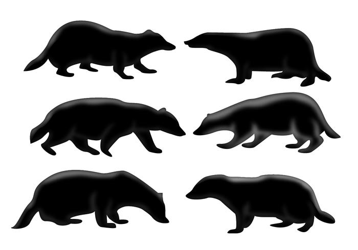 Honey Badger Silhouette