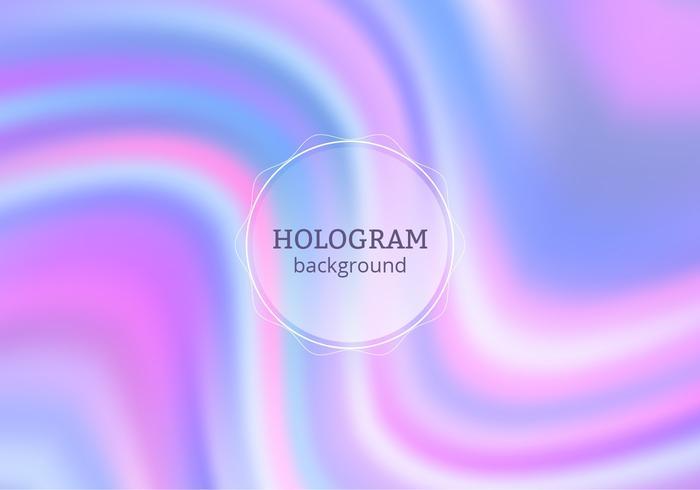 Vector Purple Hologram Background