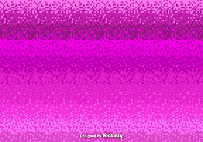 Roze Pixel Vector Achtergrond