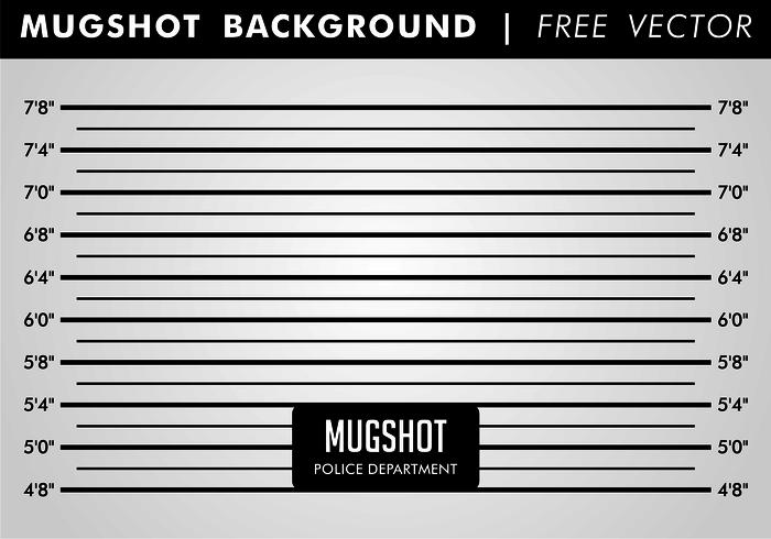 Mugshot Background Free Vector