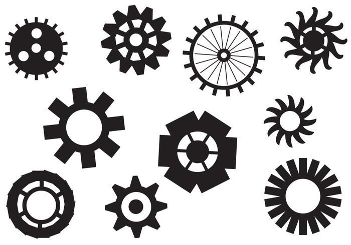 Free Clock Pieces Vectors