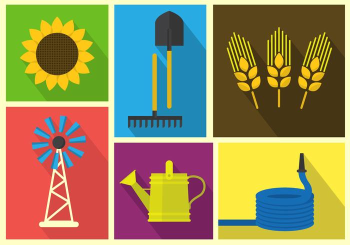Farm Vector Illustrations