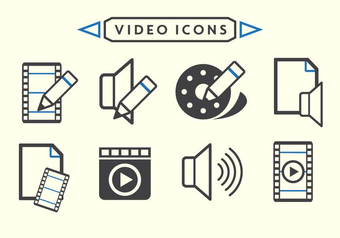 Vecteurs d'édition vidéo