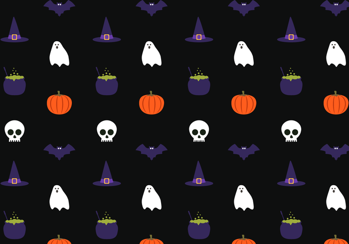 Free Halloween Pattern Vector - Download Free Vector Art, Stock ...