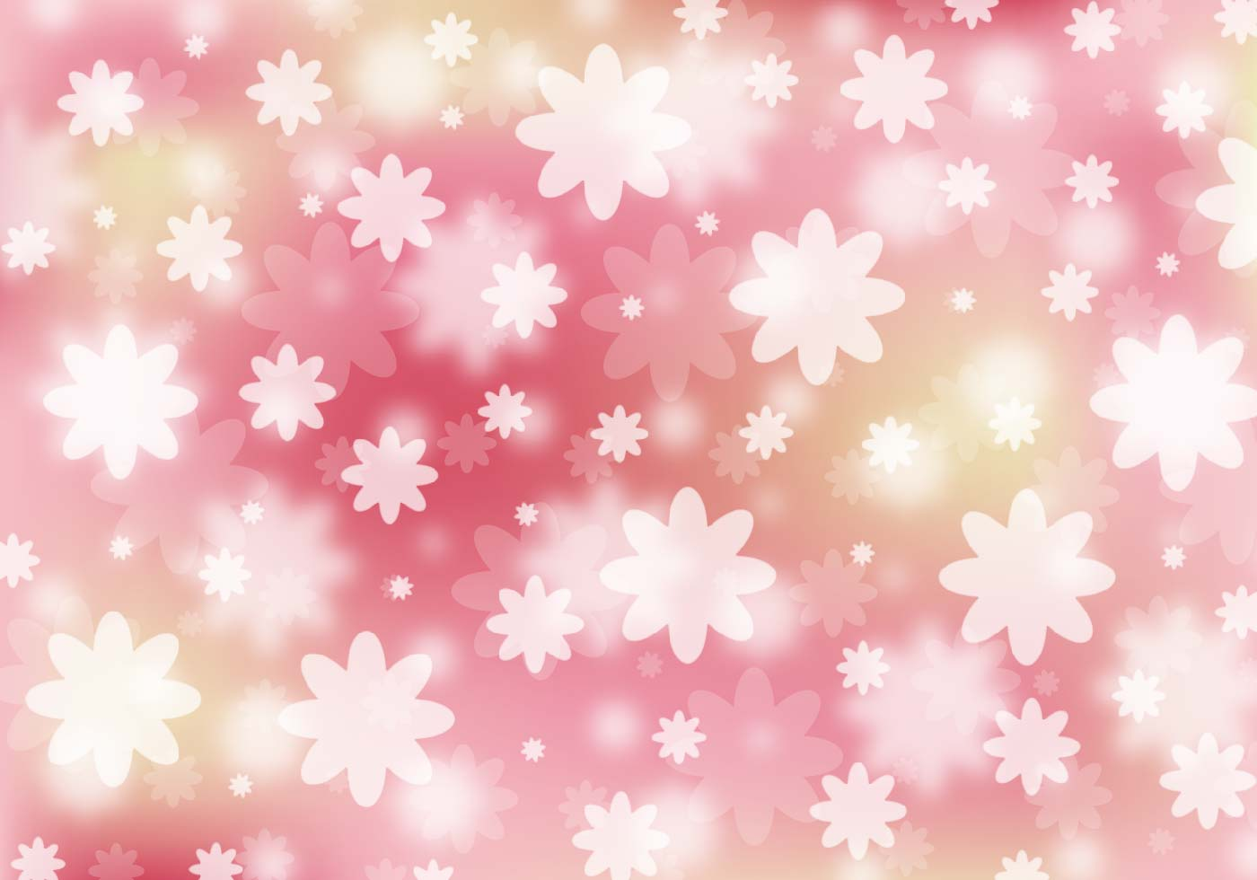 Free Vector Abstract Floral Background - Download Free ...