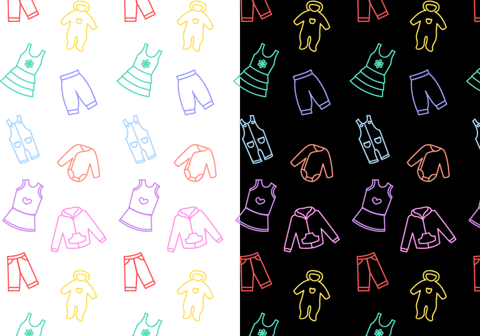 Free Baby Pattern Vector