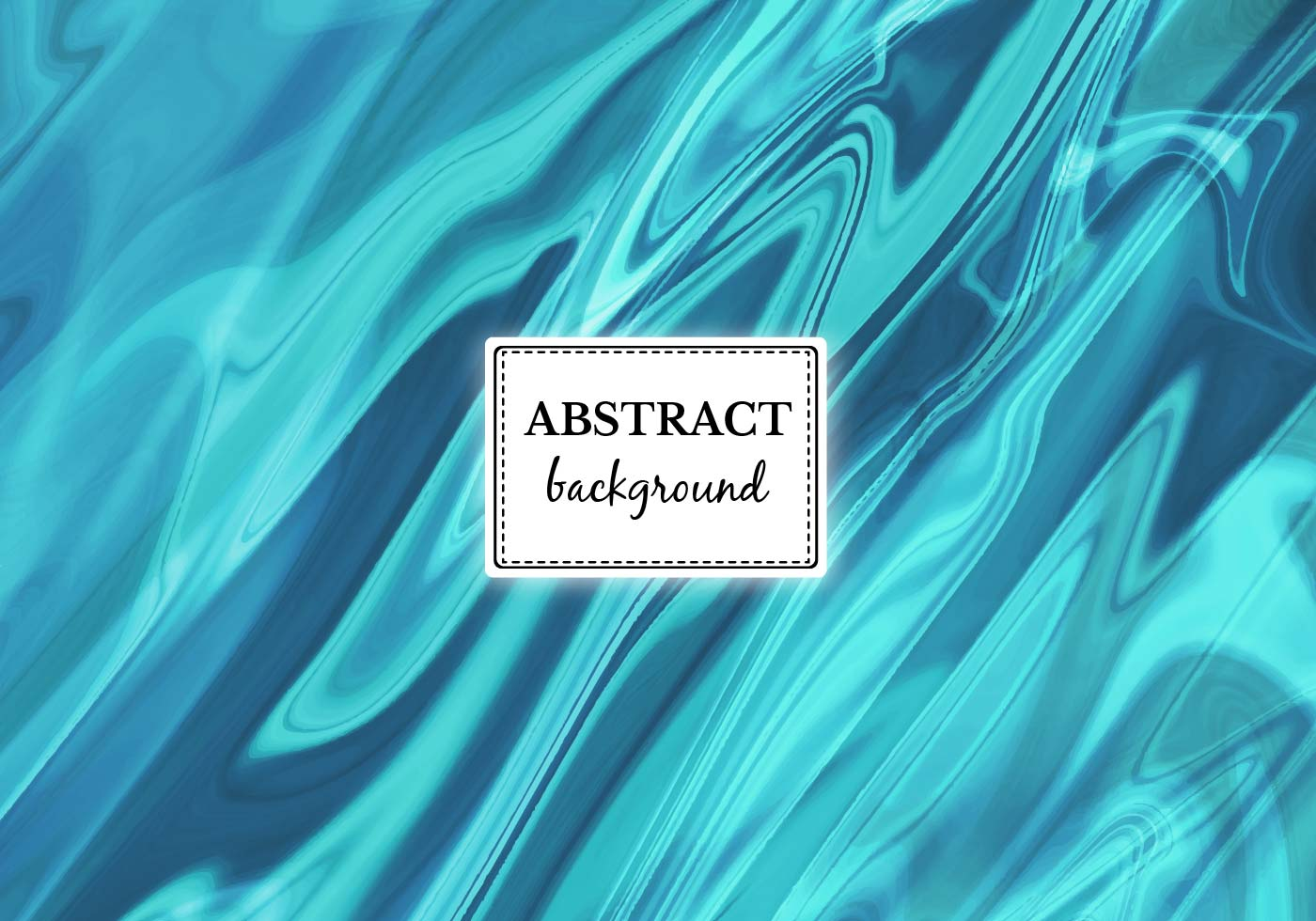 Free Vector Turquoise Abstract Background Download Free