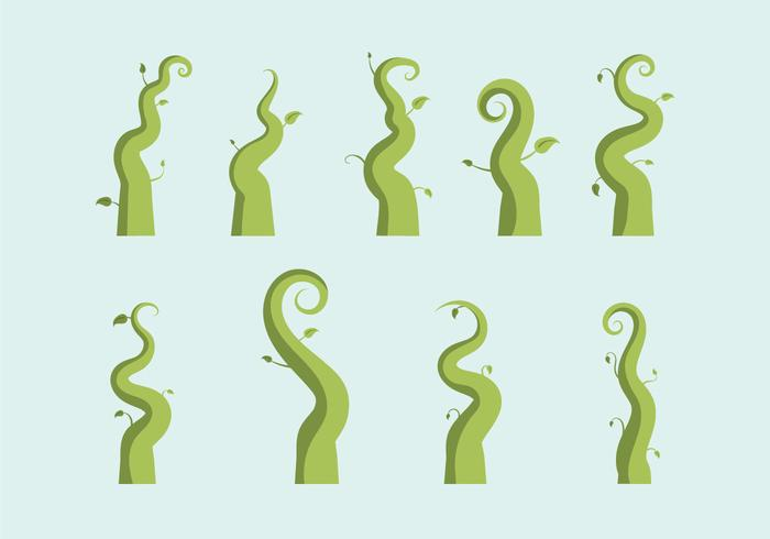 Ilustração vetorial Beanstalk grátis