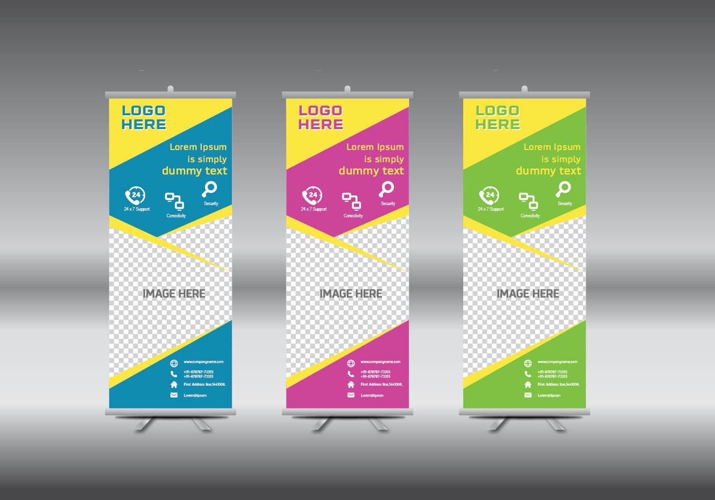 roll up banner template vector illustration download free vector art stock graphics images. Black Bedroom Furniture Sets. Home Design Ideas