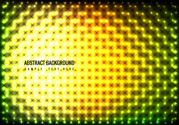 Vector Colorful Lights Background