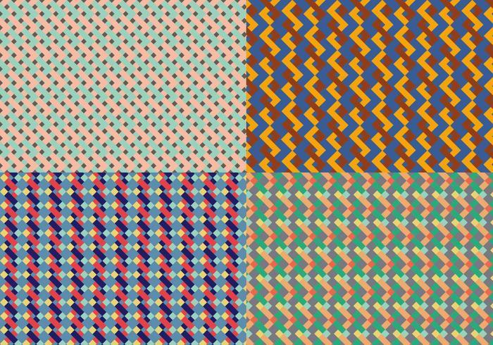 Kvadratisk geometrisk mönster Bacground