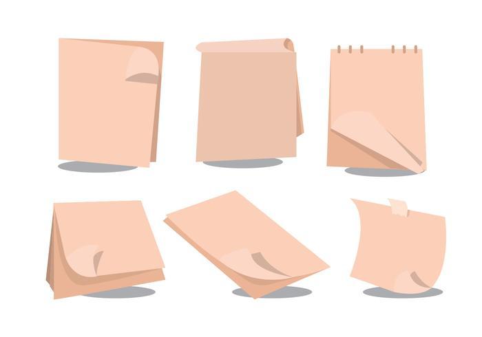 Page Flip Vector Set