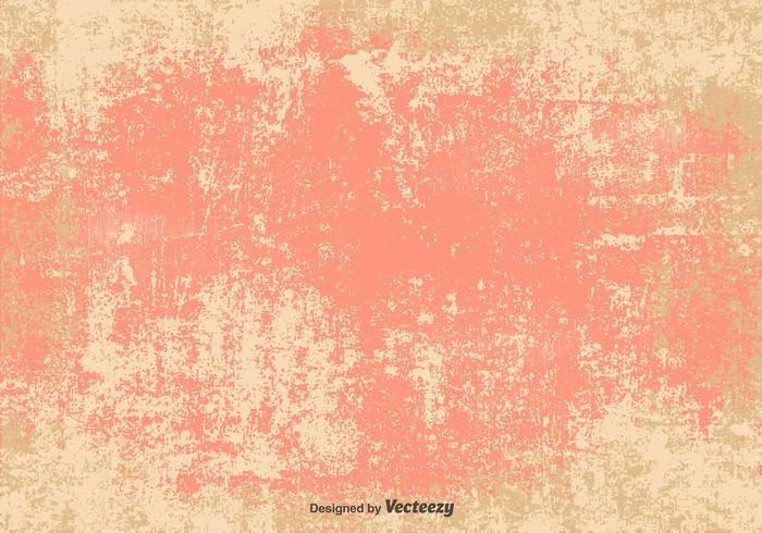 Vector Grunge Pink/Beige Background