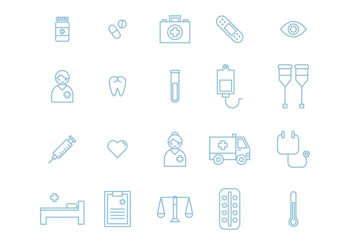 20 Medical Icons