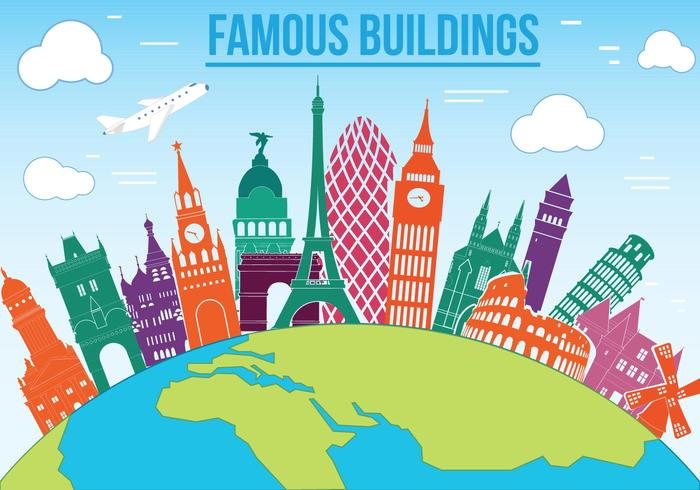 Free Famous Buildings Vector