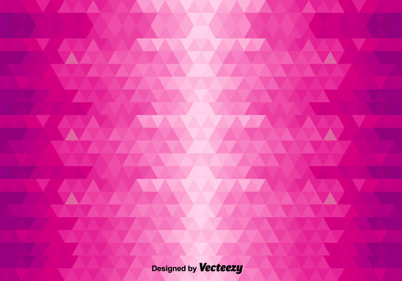 Abstract Vector Background With Pink Triangles Download