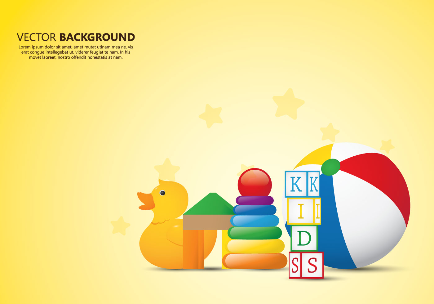 kids toys background download free vector art stock