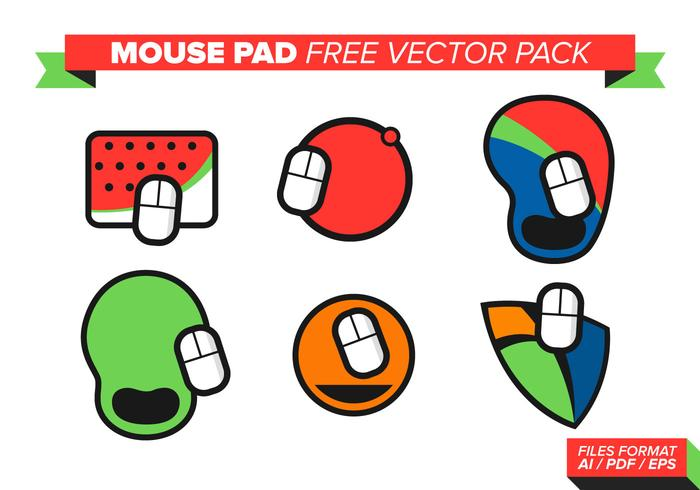Mouse Pad Free Vector Pack