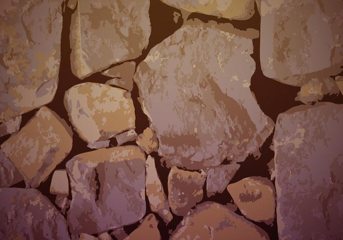 Stonewall Background Texture Vector