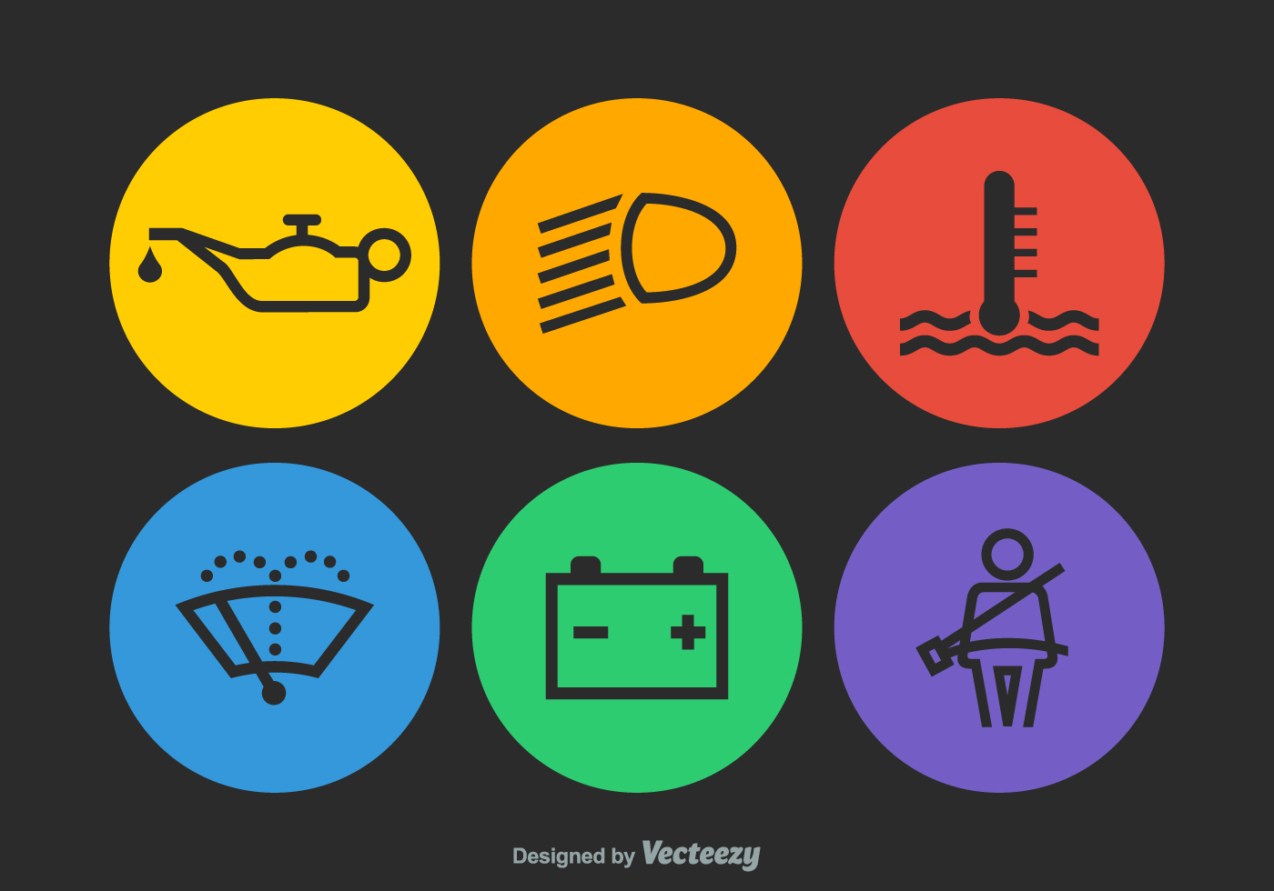 free vector car dashboard icons download free vector art
