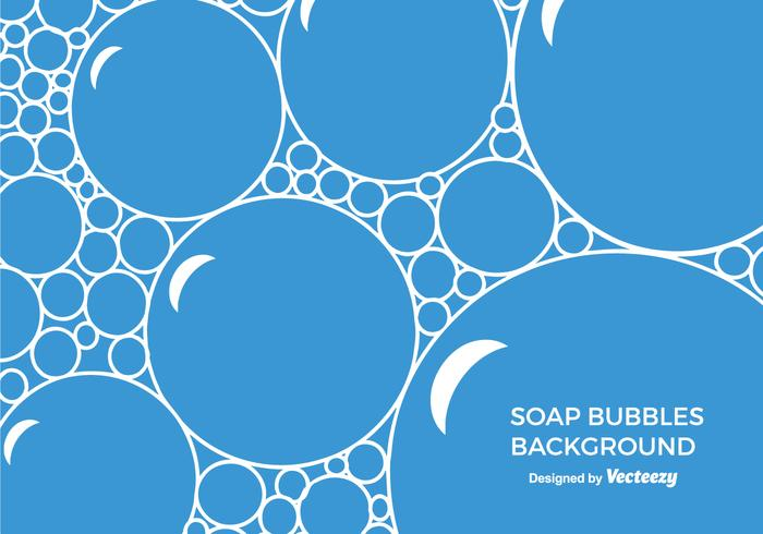 Free Soap Suds Vector Background