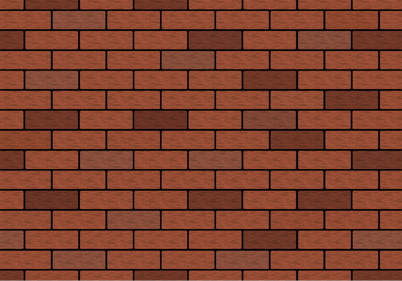 Free brown brick wall vector download free vector art Wall pictures