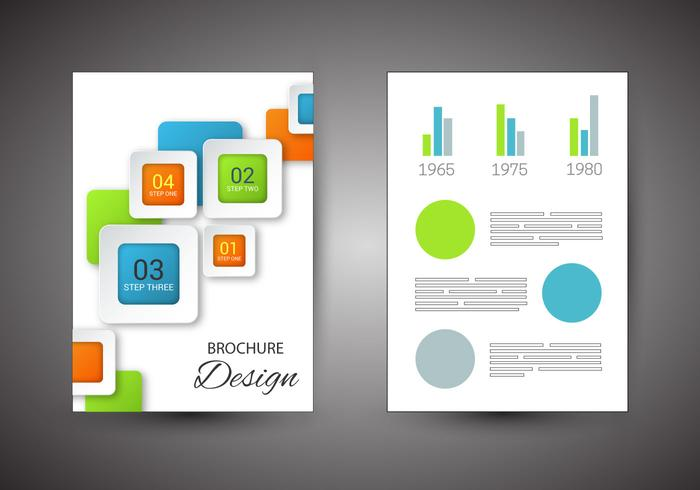 Free Brochure Design Vector