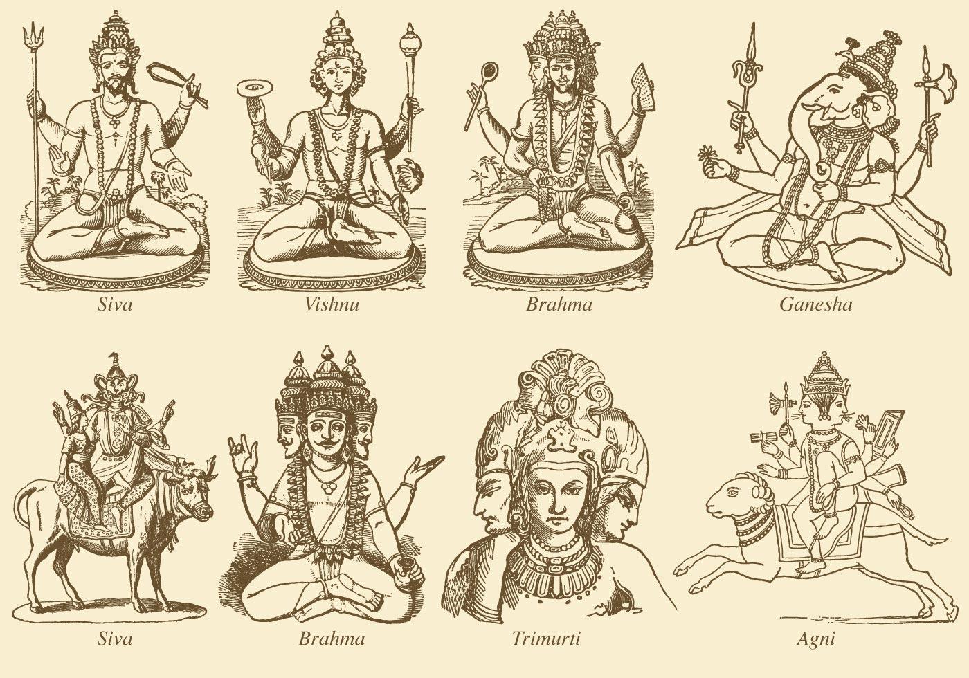 Indische Götter Liste