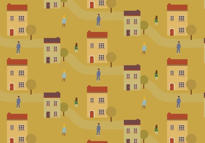 City Streets Pattern