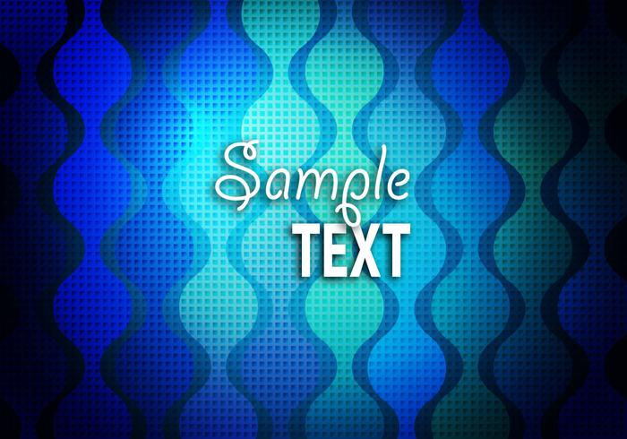 Free Blue Textured Background Vector