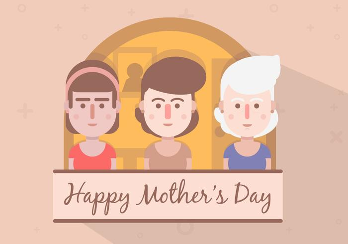FREE MOTHERS DAY VECTOR